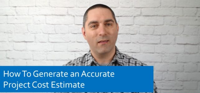 How To Generate an Accurate Project Cost Estimate