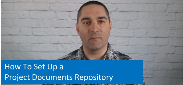 How To Set Up a Project Documents Repository