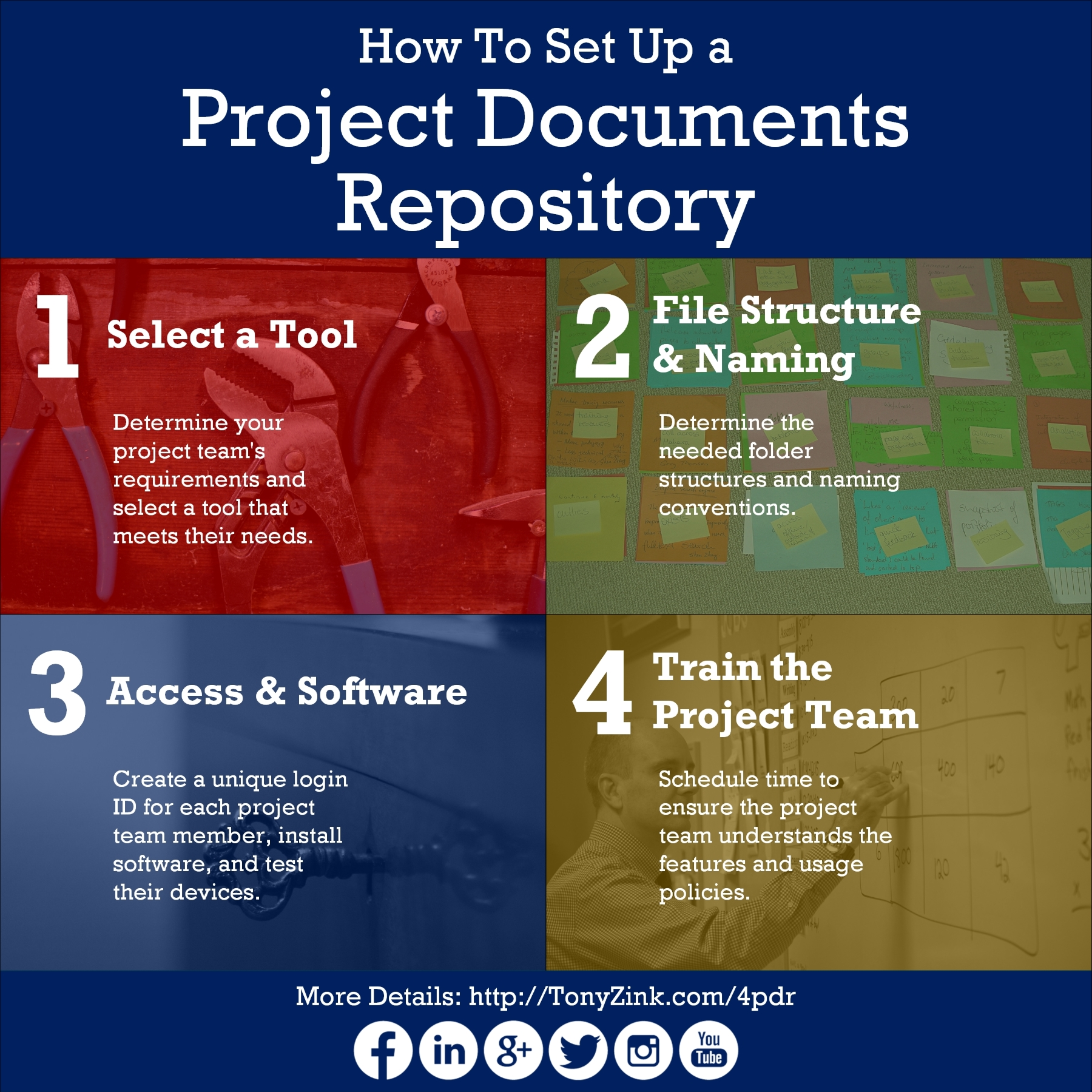 how to set up a google document